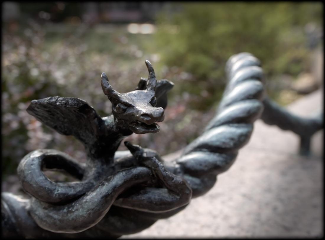 Iron Sculpture on Wire - New york