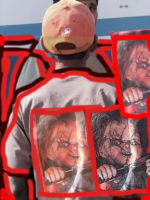 Chucky Mancara Muñeco Maldito