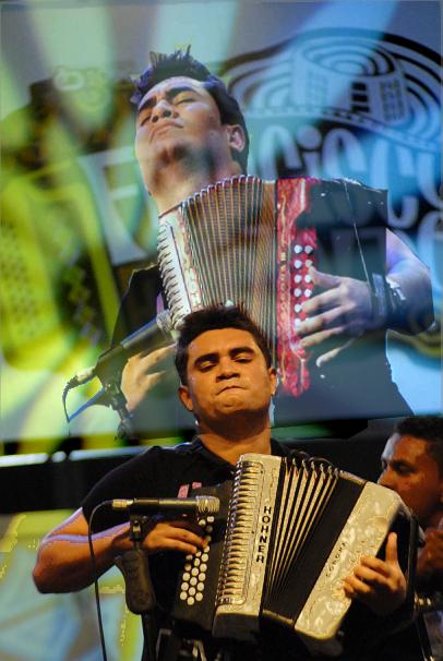 Acordeonero en Festival Francisco el Hombre - Riohacha - Guajira -  Fotos Camilo Rozo