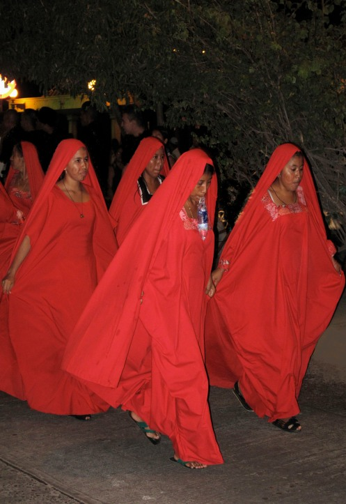 Ángeles Rojos - Desfile Riohacha - Guajira - Febrero 2009 - Foto Gino Lofredo