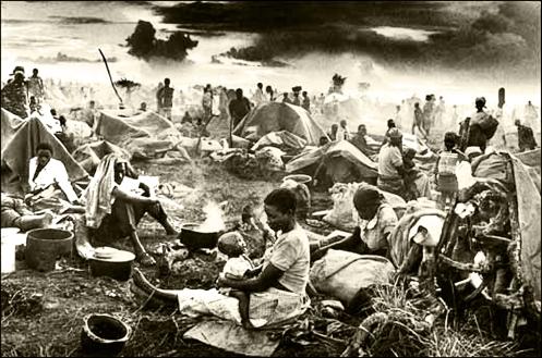 Desplazados de Rwanda Salgado