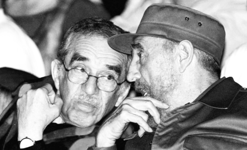 Fidel y GGM bw 2