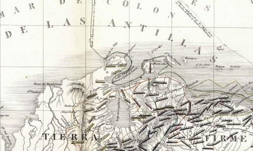 Codazzi - Coquibacoa - Maracaybo 1840