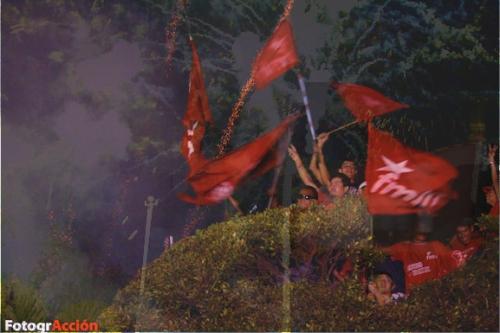 FMLN Fireworks