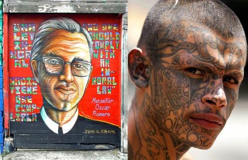 Romero y Hombre tatuado