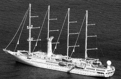 Wind Spirit Crucero bw