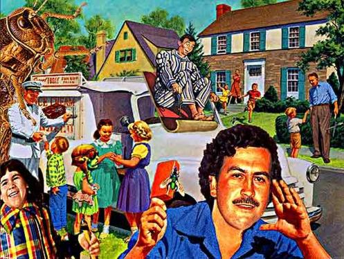 Pablo Escobar en Suburbia USA