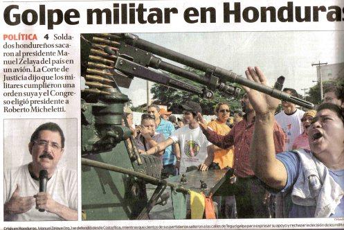 Golpe Honduras