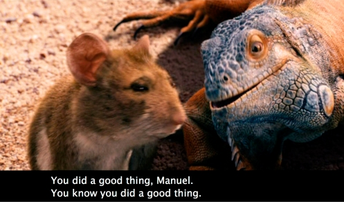 You did a good thing Manuel