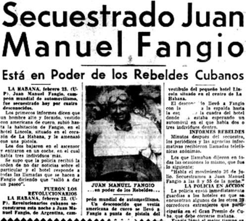 Fangio Secuestrado
