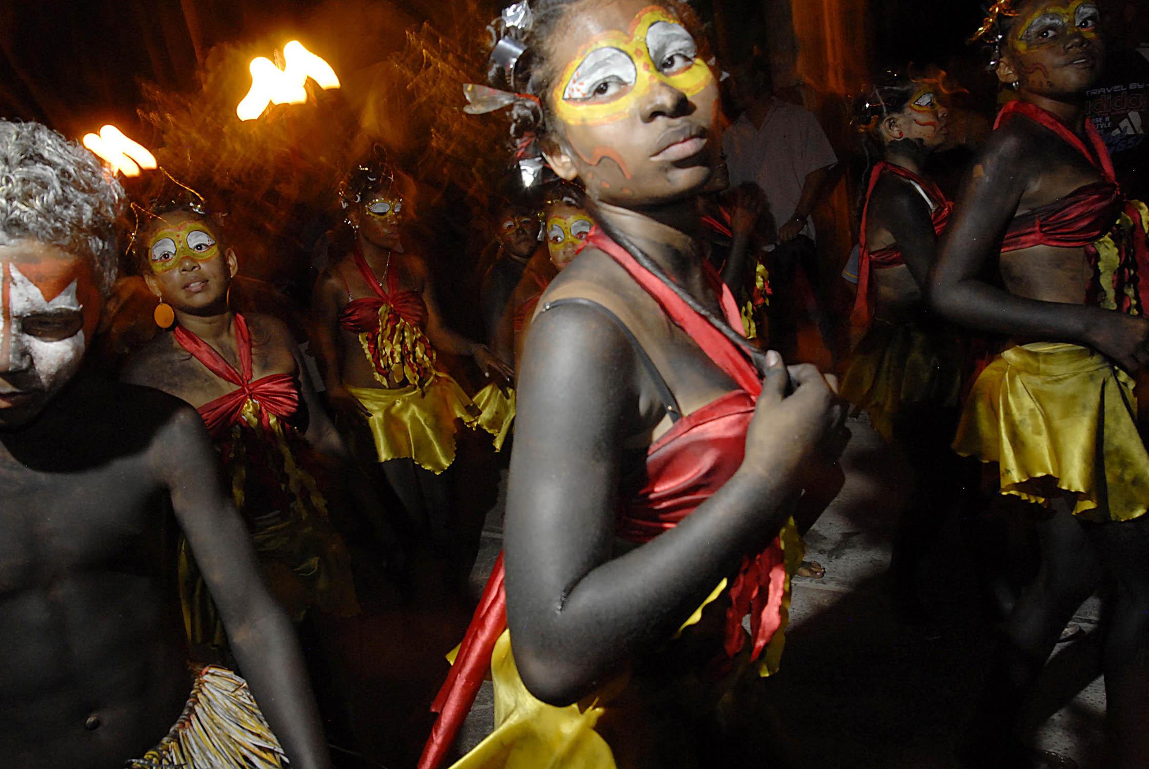 Desfile Festival Francisco el hombre - Riohacha - Guajira - foto Camilo Rozo
